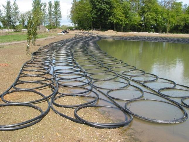 отбор тепла из поверхностных водоемов